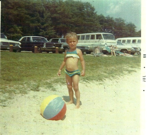 Fun in the sun at Holliday Lake in 1968