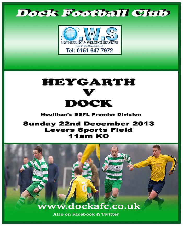 Heygarth v Dock