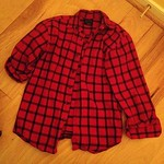 Gap vintage red checked flannel from tag sale in Roslyn Heights