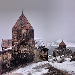 Monastery of Sevan, Armenia✨