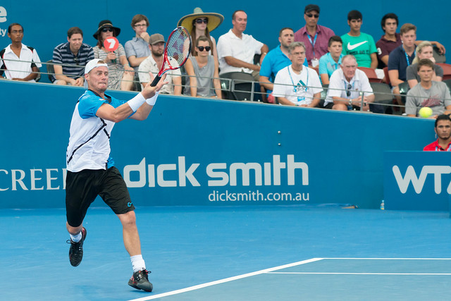 Brisbane International semi-finals - Lleyton Hewitt