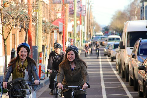 Cycling on Union Street 3