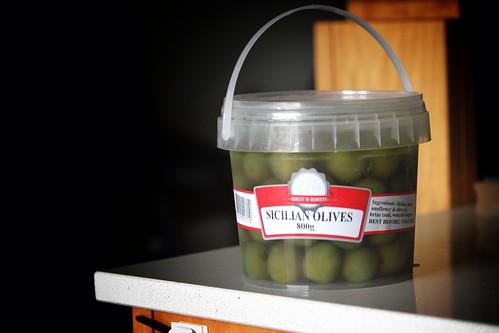 Sicilian Olive Bucket