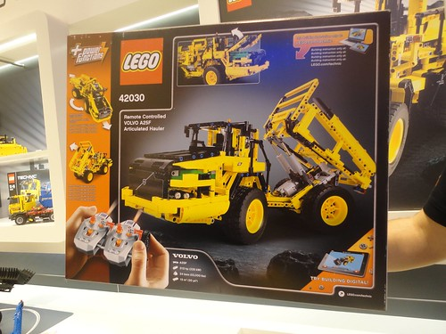 lego technic 42030 volvo front end loader b model flickr. Black Bedroom Furniture Sets. Home Design Ideas