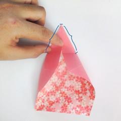 สอนวิธีการพับกระดาษเป็นดอกมะเฟือง (Origami Carambola) 007
