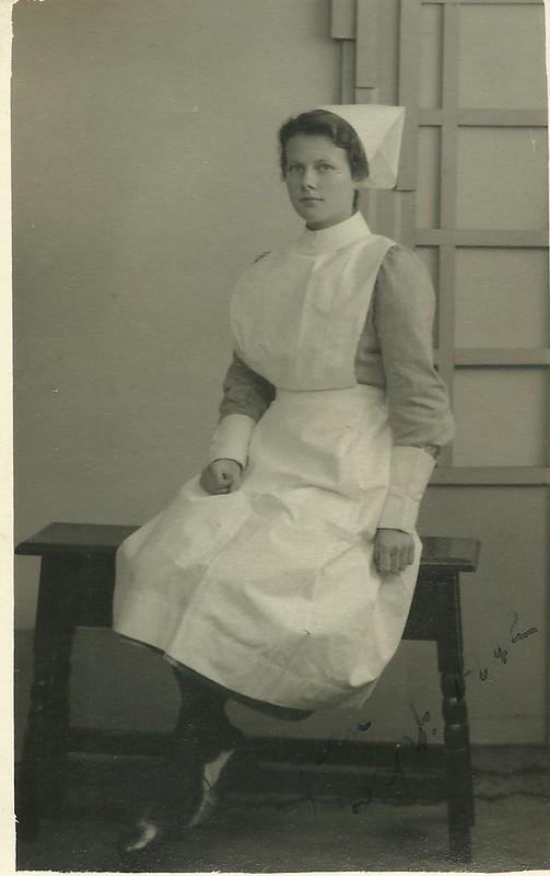 Unidentified Nurse Preston