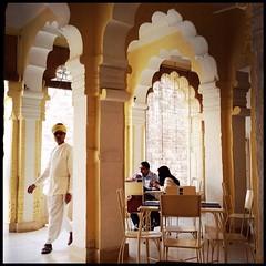 Lunch. Jodhpur, Rajasthan, India. February 28, 2014.
