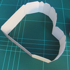 วิธีทำโมเดลกระดาษเป็นกล่องของขวัญรูปหัวใจ (Heart Box Papercraft Model) 004