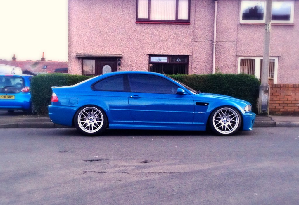 Coilovers and Wheels fitted - SAW's LSB E46 M3 - The