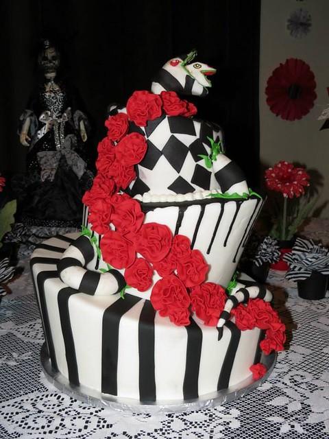 Flickriver Tim Burton Inspired Cakes Pool
