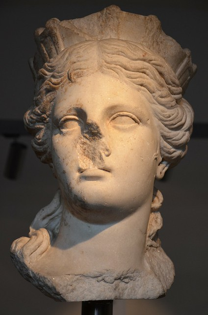 The goddess Tyche, Ny Carlsberg Glyptotek, Copenhagen