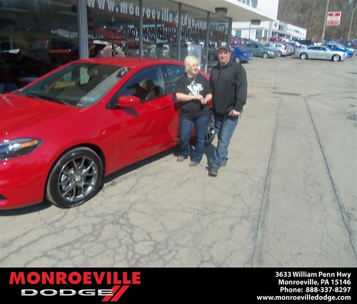 Happy Anniversary to Tammy Ann Austin on your 2013 #Dodge #Dart from James Platt  and everyone at Monroeville Dodge! #Anniversary by Monroeville Dodge