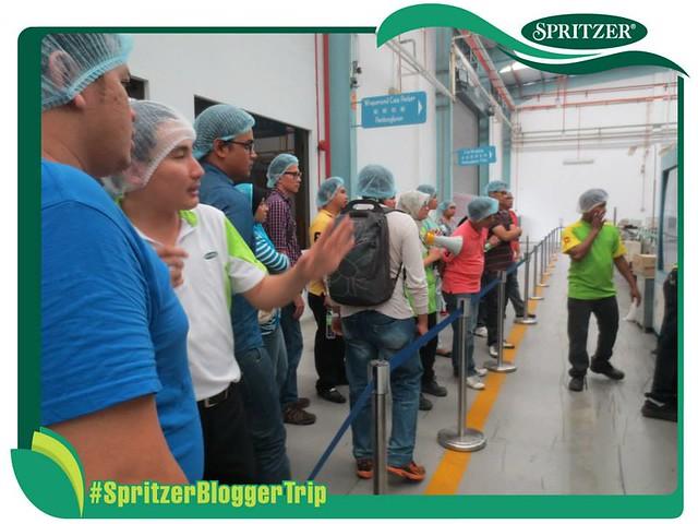 Lawatan Kilang Spritzer Taiping