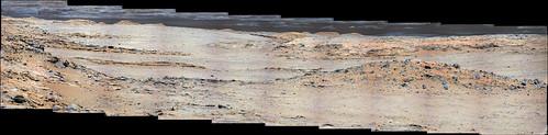 Curiosity sol 576 MastCam right panorama