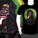 #Cool #Rastaman with #Marijuana #Caricature #3d - #T_Shirts on #Redbubble