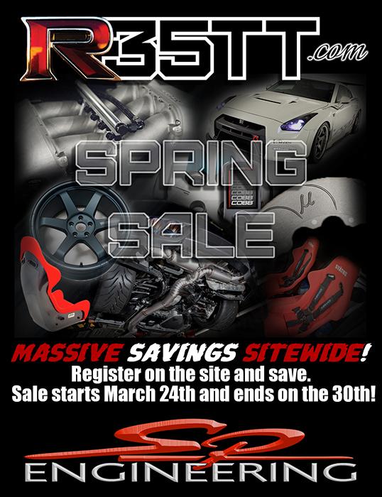 R35TT.com Spring Sale! (03/24/14 to 03/30/14)