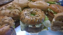 dessert(0.0), bread(1.0), baked goods(1.0), food(1.0), dish(1.0), cuisine(1.0), bagel(1.0),