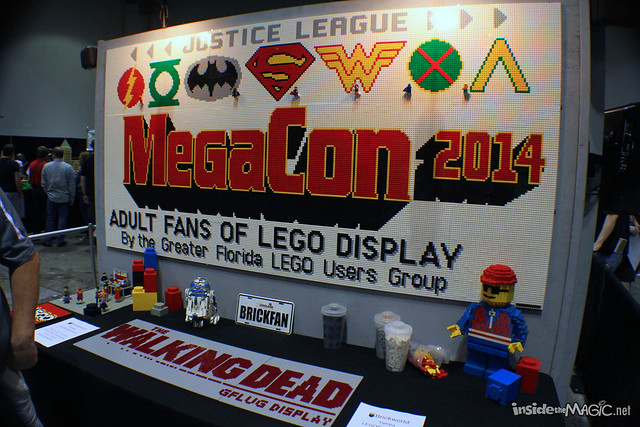 MegaCon 2014 booths and exhibits