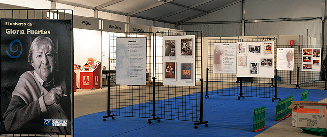 Exposición de Gloria Fuertes en Collado Villalba