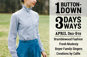 1 Button Down | 3 Days| 3 Ways