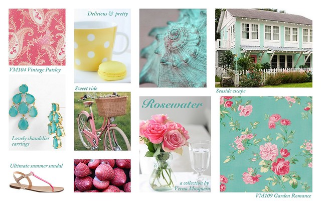 Rosewater by Verna Mosquera for Free Spirit Fabrics
