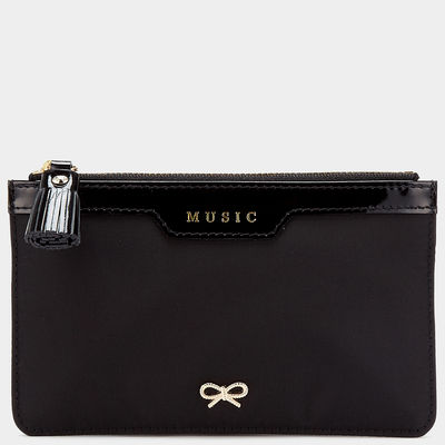 Daisybutter - UK Style and Fashion Blog: Anya Hindmarch Music Pouch