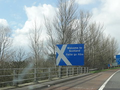 reaching scotland!
