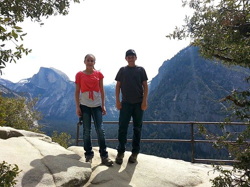 Halfway to Top of Yosemite Falls