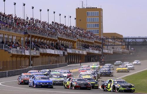 Salida carrera Circuit Valencia Nascar Europea