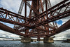 Underneath the Forth Bridge
