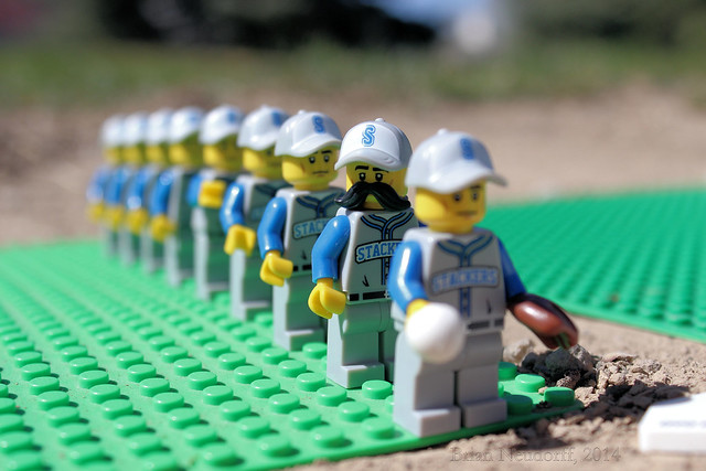 Lego Baseball Team | Flickr - Photo Sharing!