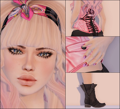 LoTD - Isn't She Pretty in Pink? - Up Close and Personal