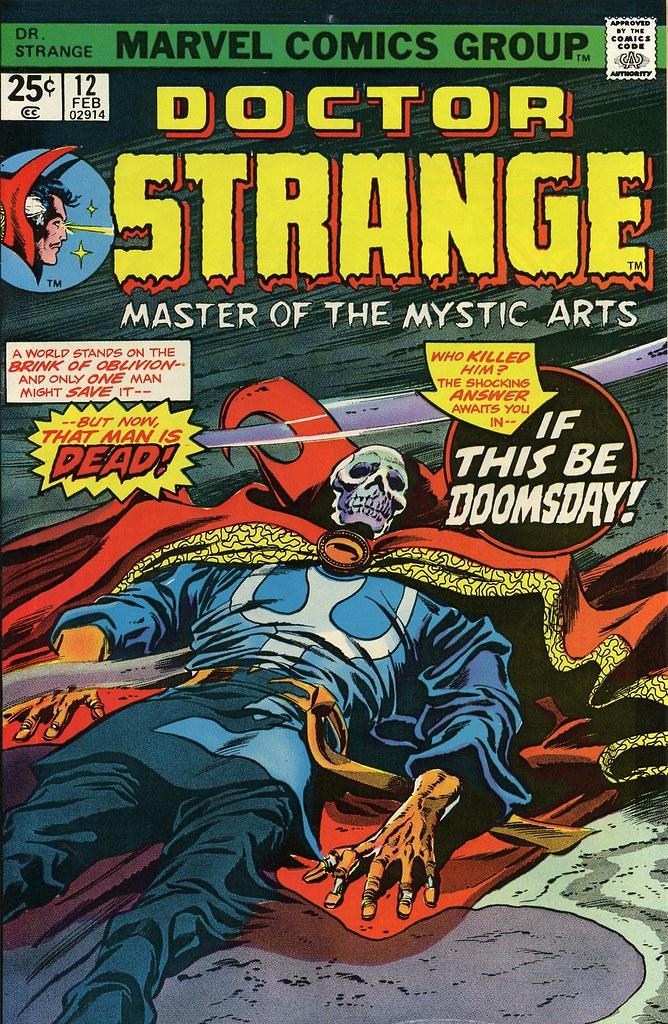 Doctor Strange 012 [Feb 1976]
