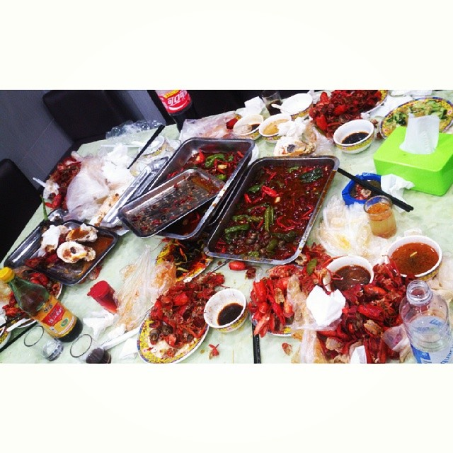 #lobster #littlelobster #barbecue #yum #yummy #instasize #lategram