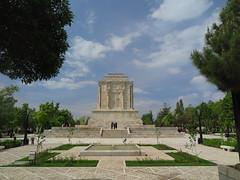 Tus Ferdosi Mausoleum Tomb Razavi Khorasan Iran Middle East