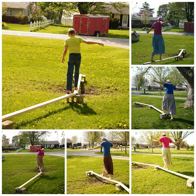 The Letter Express...a Human Obstacle Course