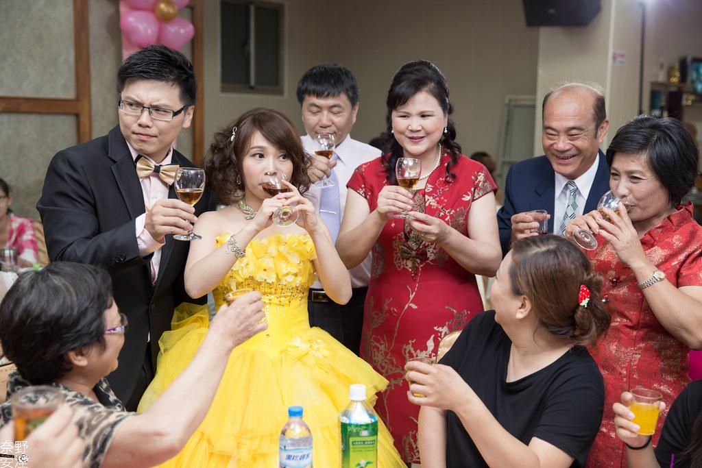 婚禮紀錄-高雄-展誠&鳳綿-文定午宴 X 吉喜海鮮餐廳 (81)