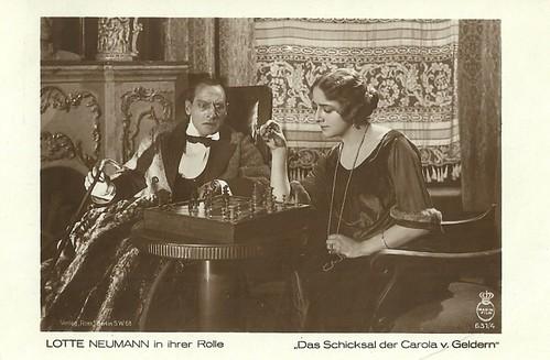 Lotte Neumann in Das Schicksal der Carola von Geldern