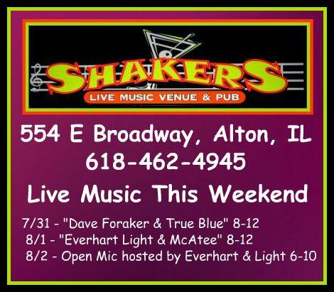 Shakers 7-31 thru 8-2-15