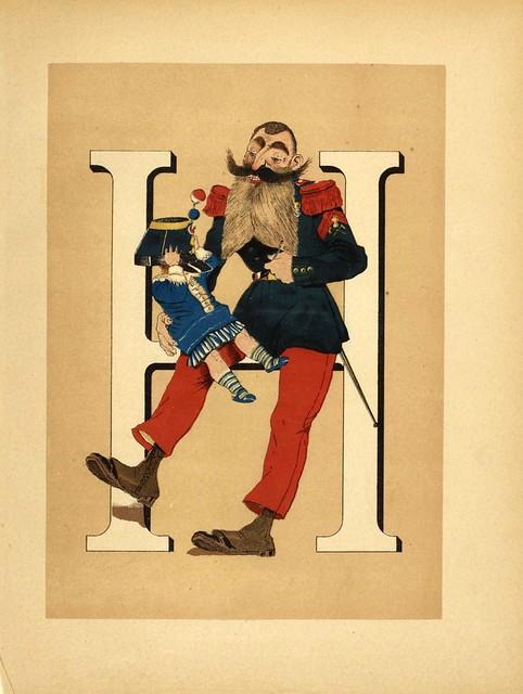 008-Armee française  nouvel alphabet militaire-1883- H. de Sta-BNF