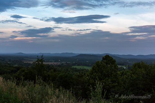 virginia july sunsets 2015 albemarlecounty greatskies virginiamountains rockfishvalley canon24704l july2015 vdotworkersmemorialoverlook