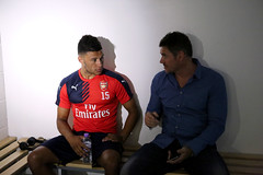 Premier League Behind the scenes Alex Oxlade-Chamberlain7