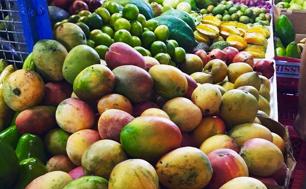 Disfrutando frutas!