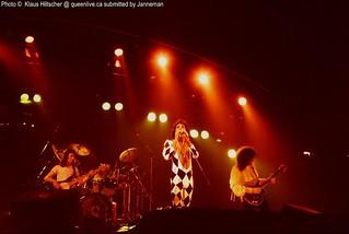 Queen live @ Francoforte - 1977