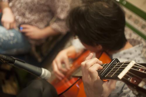 Guitarra española, guitarrista japonés