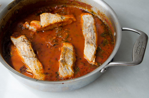 spicy tunisian fish stew (chreime)