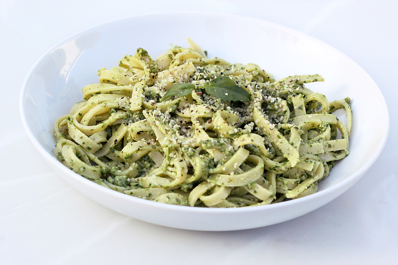 Arugula and Hemp Seed Pesto - (Gluten-free, Vegan and Nut-free option)