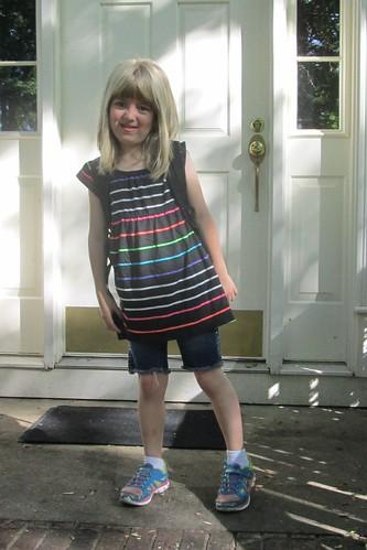 Catie's last day of kindergarten