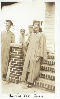 Joan and Bernard 1939 graduation
