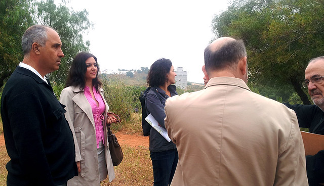 Granada Santos visita el Parque de la Muela